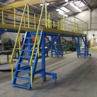 Fabrication passerelle mobile